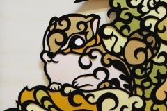 エゾリス Hokkaido squirrel size:182×257mm【Sold Out】