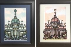 サン・ピエトロ大聖堂(特注オーダー・2パターン制作)