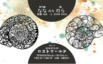 ななのちのら展vol.4 nana-no-tinora(4作品)